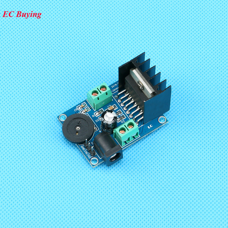 TDA7266 Audio Amplifier Module <font><b>DC</b></font> 3V to 18V Dual Channel 7W+7W 4-8 ohm <font><b>5</b></font>-15W Electronic DIY Board Kit image