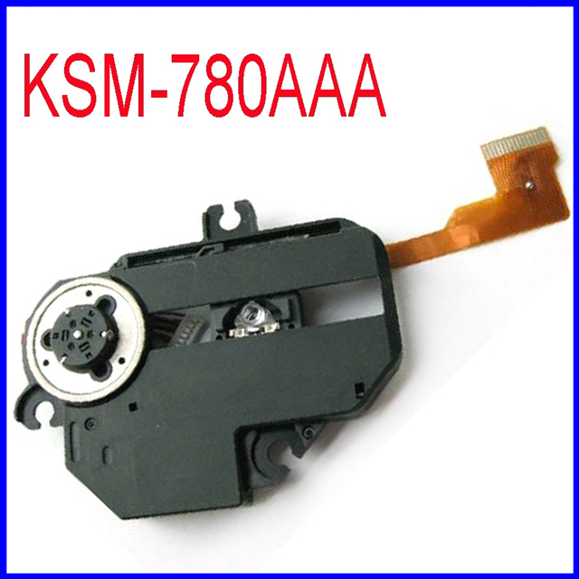 Frete Grátis Original Assembléia Lens Laser CD Optical Pick Up Mecanismo KSM780AAA KSM-780AAA Óptica Pick-up