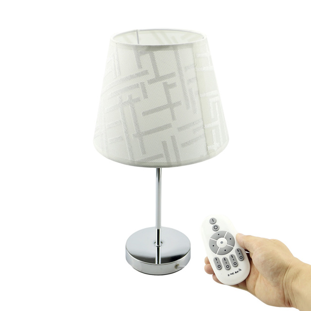Led Remote Control Table Lamp 7w Stepless Dimmable Table Lamp For
