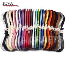 Juya-Juego de papel metálico, 2/3/5/7/10mm de ancho disponible, 355mm/tiras, 40 tiras/color