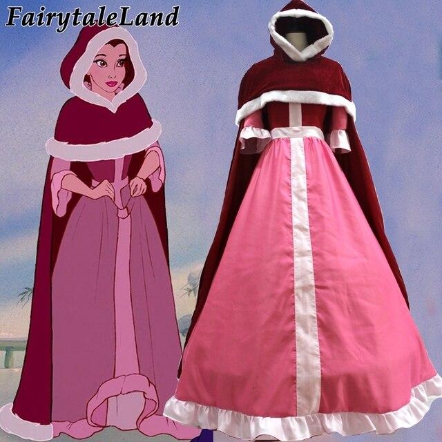 Robe rouge la belle et la bete