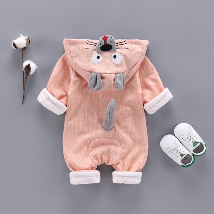 Fashion Animal Baby Romper Tiger Boy Girl Clothes 2