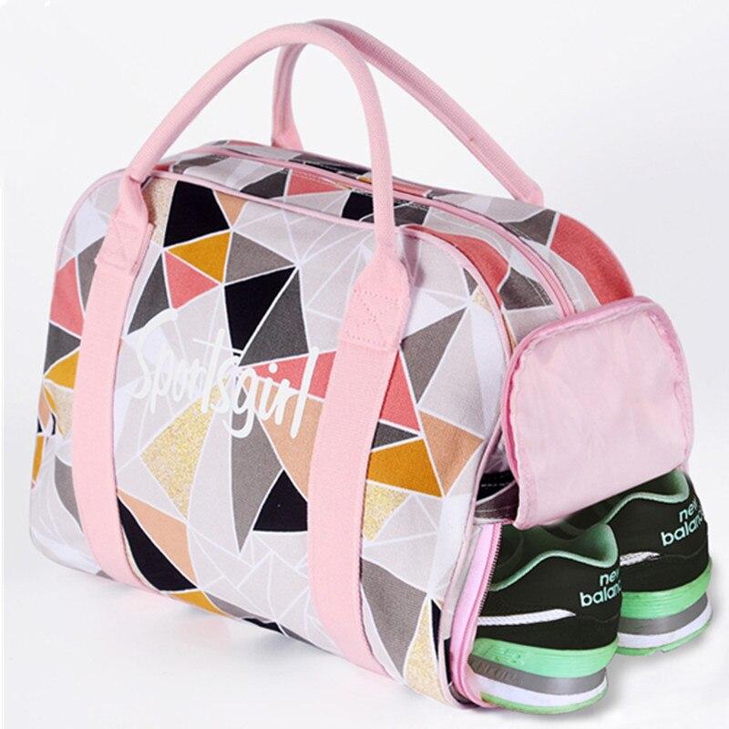 Sac de sport pour femmes sac de sport de Fitness sacs à main pour femmes sac à bandoulière de voyage sac de tapis de Yoga Bolsa Feminina