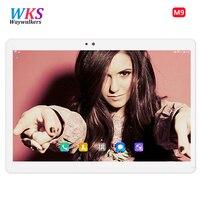10.1 inch Tablets Phone Call Dual SIM card 2G 3G WCDMA Quad Core FM WiFi make call Tablet pc Android 7.0 WiFi bluetooth 4GB+32GB
