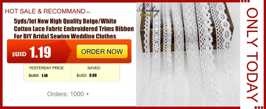 ④5 yardas/Lot moda 12 cm bordado Encaje cinta gasa hecha a mano del ...