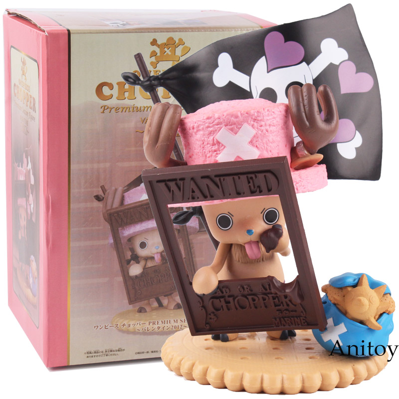 One Piece Chopper Premium Season Figure Valentine 2012 Chopper Action Figure One Piece Anime PVC Action Figure Model Toy image