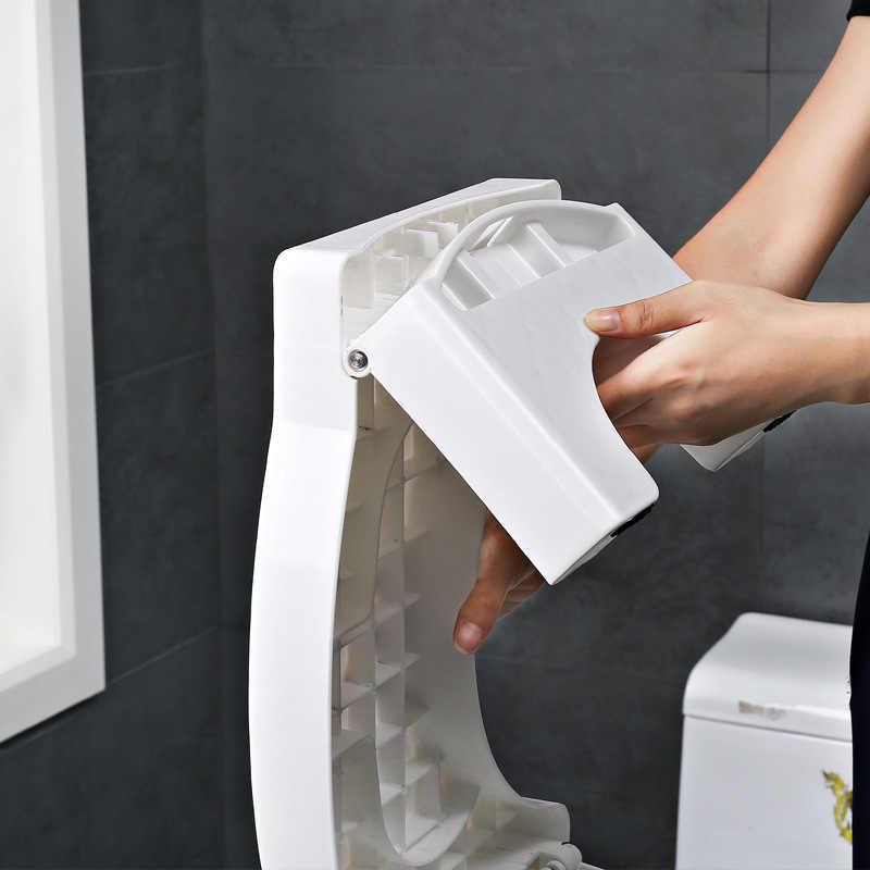 50% скидка Squatty Горшок Пластик утолщенной складной Туалет стул шаг табурет 41X25X17,5 см