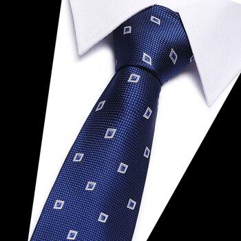 Men Tie 8cm Business Mens Fashion Striped lattice Neckties Gravata Jacquard Bowtie man's Wedding dress Ties shirt Accessories men tie fashion mens 5cm slim ties striped lattice neckties gravata jacquard bowtie man s wedding dress shirt accessories