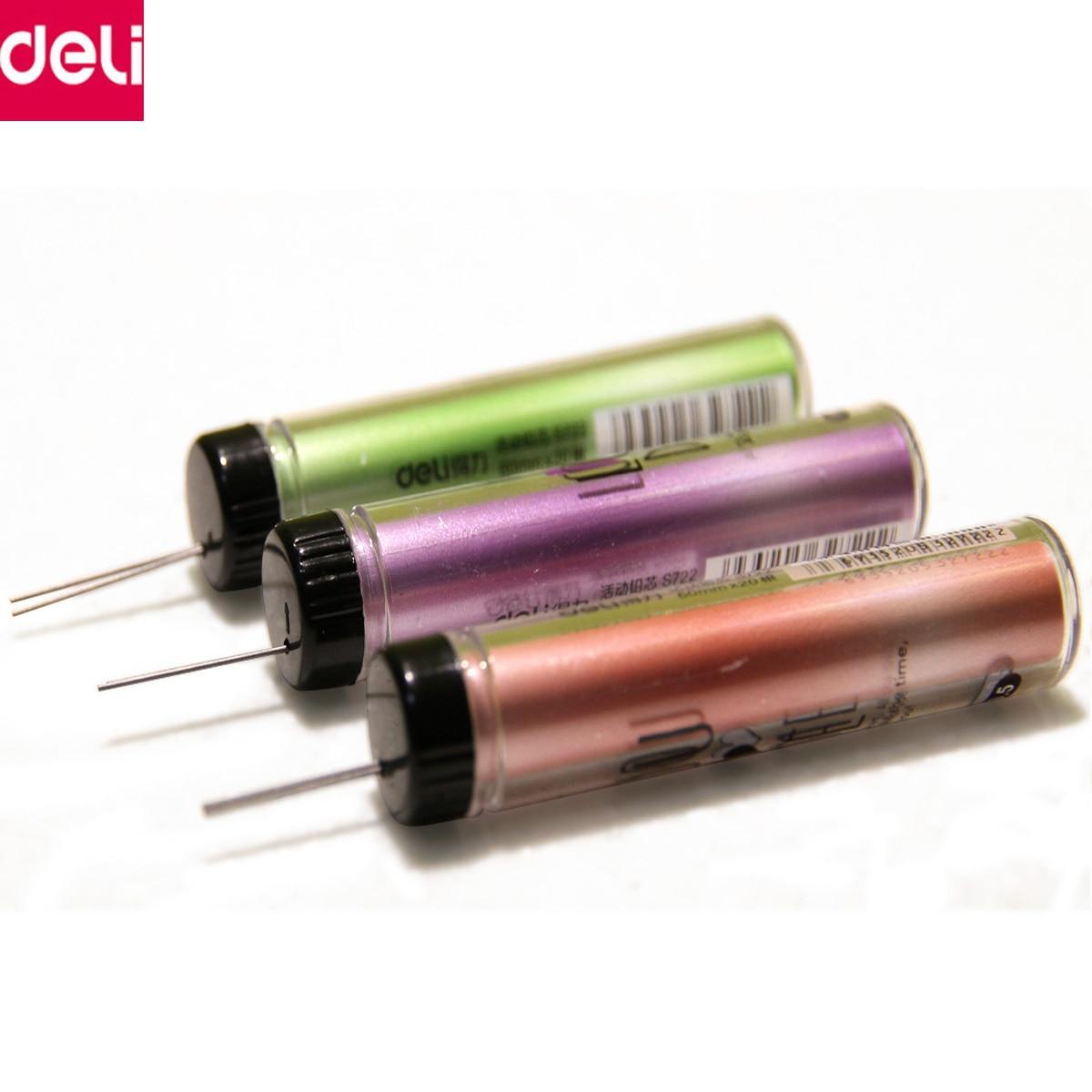Liquid Lead Pencil Aliexpresscom Buy Deli Stationery 2pcs Mechanical Pencil Lead