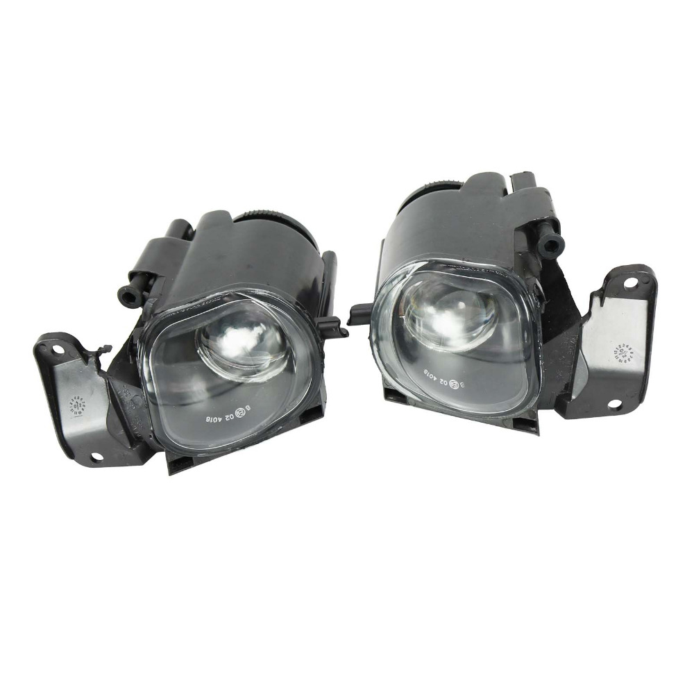 2Pcs For Audi A6 Avant C5 4B S6 Sedan 1997 1998 1999 2000 2001 Car-styling Front Fog Lamp Fog Light With Convex Lens 2pcs right left fog light lamp for b mw e39 5 series 528i 540i 535i 1997 2000 e36 z3 2001 63178360575 63178360576