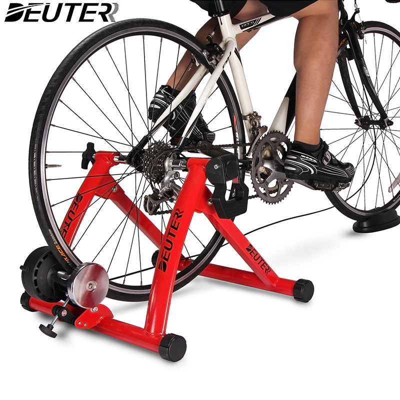 Portable Indoor Exercise Fitness Magnetic Bicycle Trainer Bike Stand Workout