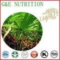 500 mg x 200 pcs Hot sale Saw palmetto/Serenoa repens/Sabal Cápsula frete grátis