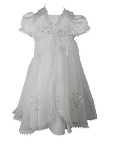 2016 Baby Infant Handmade Baptism Gown Baby Girl Christening Dress White/Ivory Lace Robe 0-24month 2016 baby infant baptism gown baby girl christening dress white ivory lace applique robe 0 24month