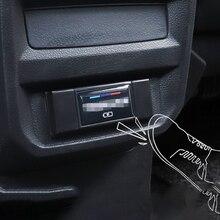 Для Tiguan второго поколения- Автомобильный задний USB Анти-защита от ударов чехол для автомобиля украшение интерьера аксессуары для автомобиля Стайлинг