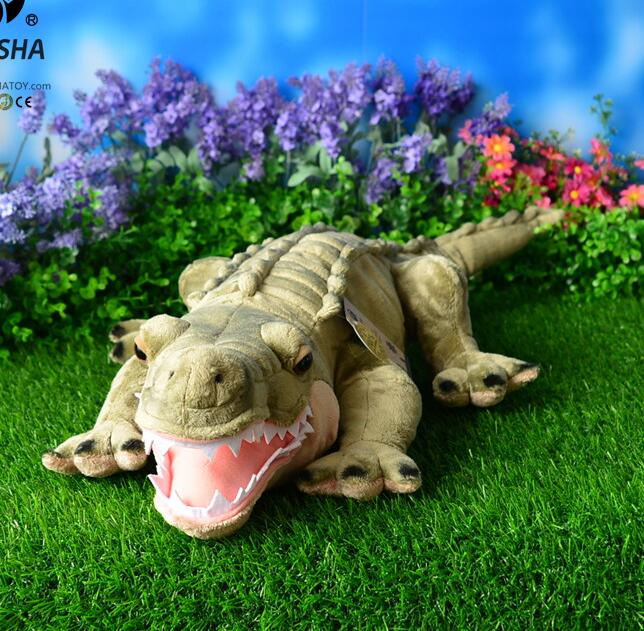 Boy Toys Nile Crocodile Doll Plush big Toy Simulation Animals Gift Pillow Chinese Alligator 55cm new arrival stuffed animals big size simulation crocodile plush toy cushion pillow toys for adults 1piece