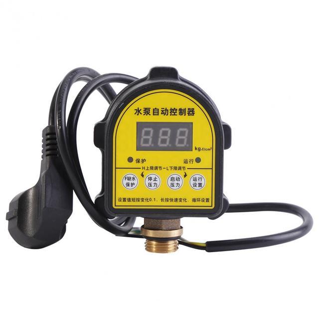 Kỹ thuật số Tự Động Bơm Khí WaterCompressor Áp Điều Khiển Công Tắc Cho Máy Bơm Nước Vào Ngày/OFF 220V