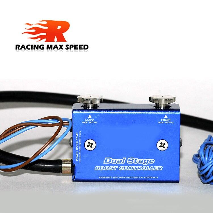 Universal adjustable Racing Turbocharger Boost Electronic Controller 30 90psiUniversal adjustable Racing Turbocharger Boost Electronic Controller 30 90psi