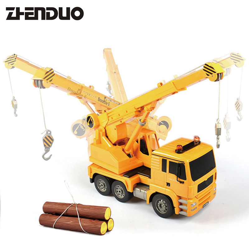 ZhenDuo Toys 1:20 2.4G RC Truck Larger Garbage Crane Radio Remote Control Car Construction Vehicle Model For Kids Gifts