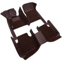 HLFNTF custom Double car floor mat For MG GT MG5 MG6 MG7 mg3 mgtf car accessories car cushions car styling