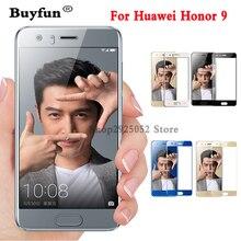 Для Huawei Honor 9 стекло закаленное Honor 9 Защита экрана 3d полное покрытие Защитная пленка для Huawei Honor 9 закаленное стекло 5.2″