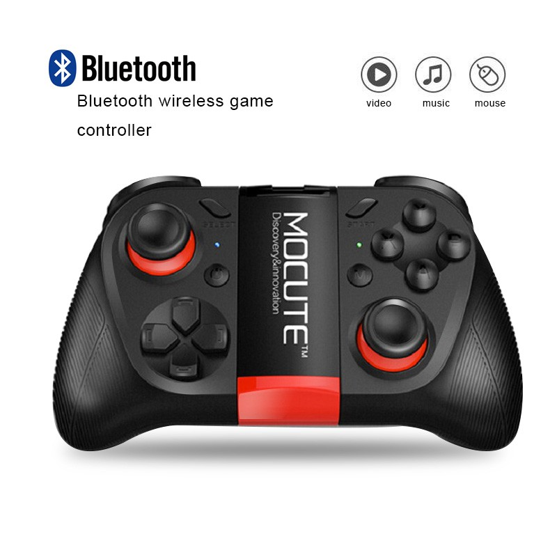 Hot!MOCUTE Wireless Bluetooth Games Handle 3.0 Controller Dual Joystick for Iphone and Android System & Laptop and VR 3D Glasses 4