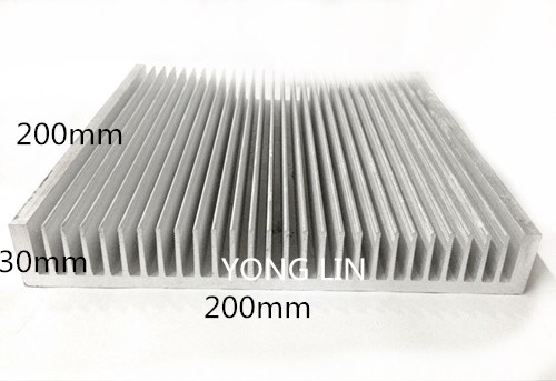 1pcs Aluminum heatsink200*30 200mm / Industrial chassis radiator/LED heat sinks/Electric box heat sink-in Fans & Cooling from Computer & Office    1