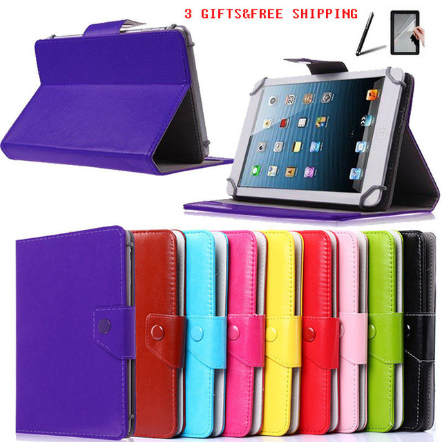 finest selection 63495 2888e US $7.3 |3 GIFTS 7 inch Universal Tablet Case For Alcatel OneTouch POP  7/Pixi 7 PU Leather Case 10 Colors Free Shipping-in Tablets & e-Books Case  from ...