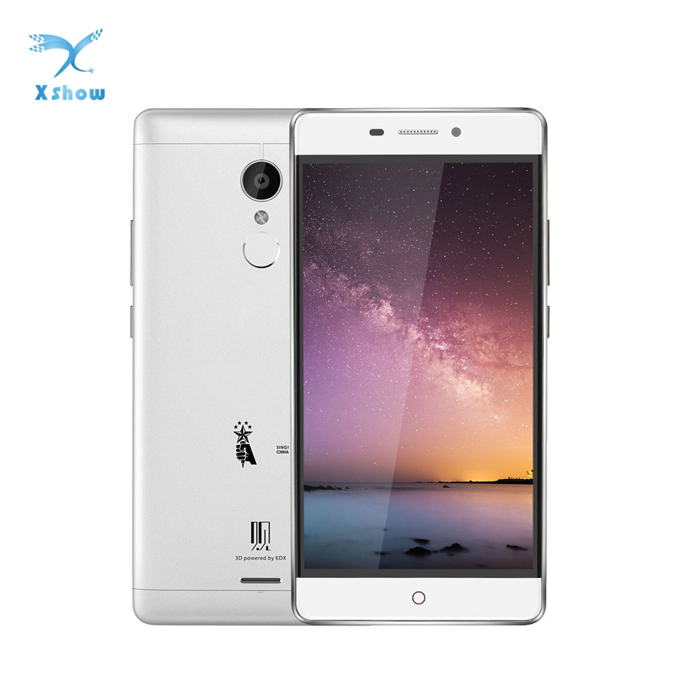 ZTE V5 K3DX-V5G 4G LTE Smartphone 1920×1080 Android 5.1.1 5MP+13MP 3000mAh 3GB 32GB 5.5inch Fingerprint MSM 8952 Mobile phones