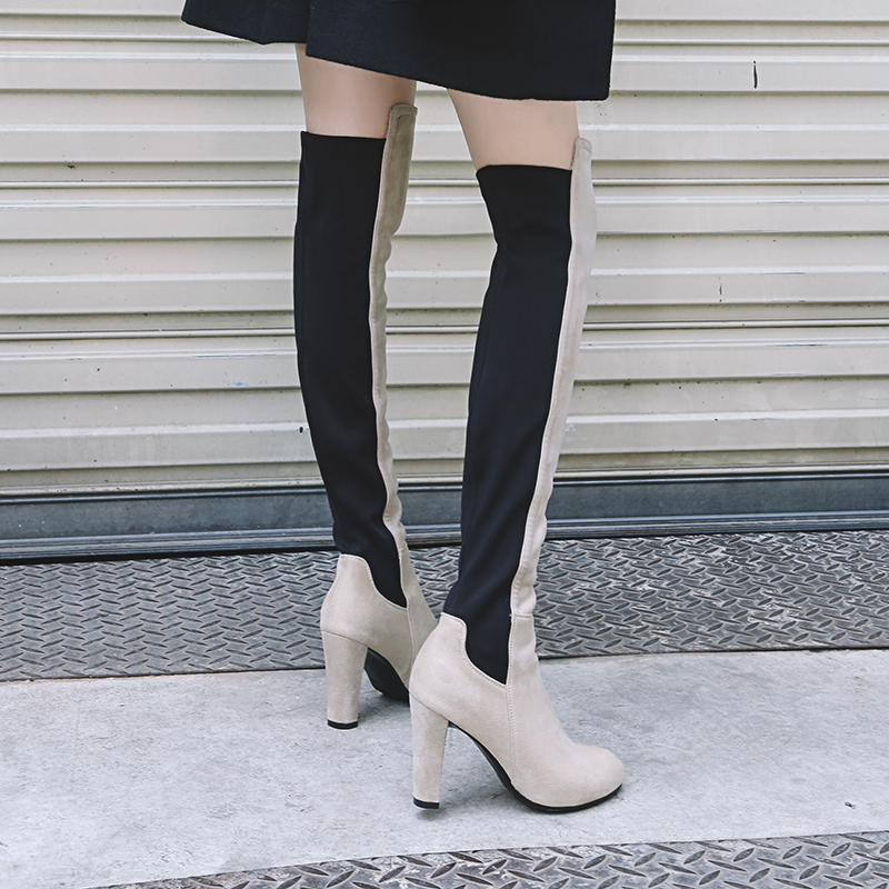 the knee thigh high boots