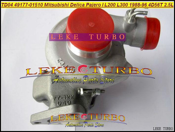 TD04 49177-01500 49177 01501 MD168053 MD168054 Oil cooled Turbo For Mitsubishi SHOGUN Delica Pajero L200 L300 4D56T 4D56 2.5L футболка print bar shogun assassin