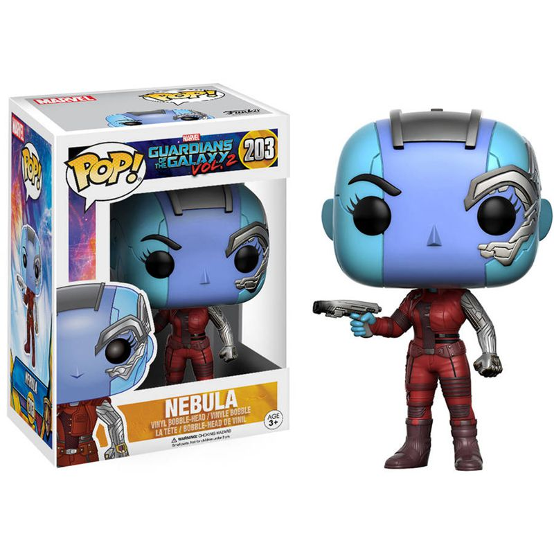Official FUNKO POP Marvel: Guardians of the Galaxy 2 - Nebula Vinyl Action Figure Collectible Toy with Original box