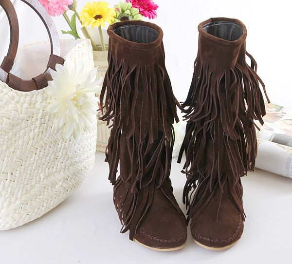 Popular Cheap Fringe Boots Suede-Buy Cheap Cheap Fringe Boots ...