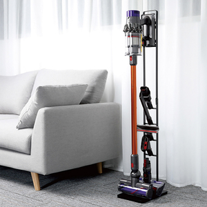 Image 5 - BUBM Metal Storage Vacuum Cleaner Bracket, Docking Station & Tools Floor Stand for Dyson V6 V7 V8 V10 Cordless Vacuum Cleaner