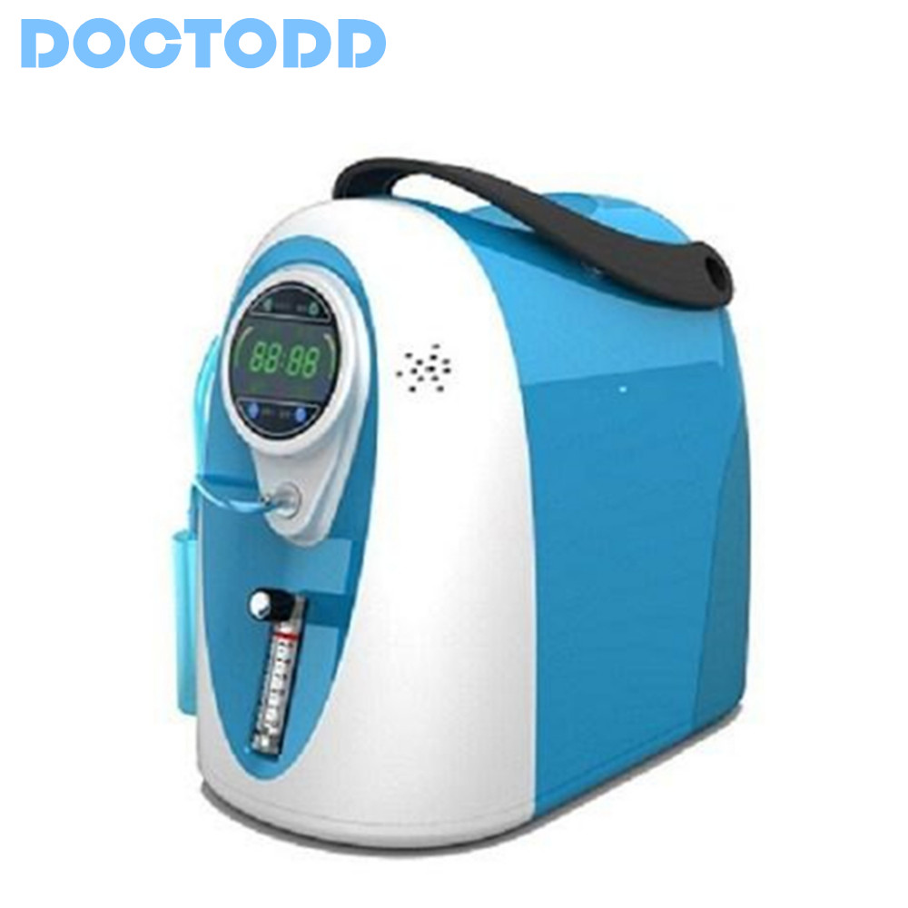 COPD Oxygen Concentrator 5L Oxygen <font><b>Generator</b></font> CE Approved PSA <font><b>O2</b></font> <font><b>Generator</b></font> Home Hospital Use Portable Oxygen Bar with Bag image