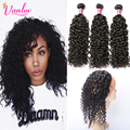 8a Water Curly 360 Frontal With Bundles Curly Weave Human Hair Bundles With Frontal Peruvian Water Wave Virgin Hair With Closure