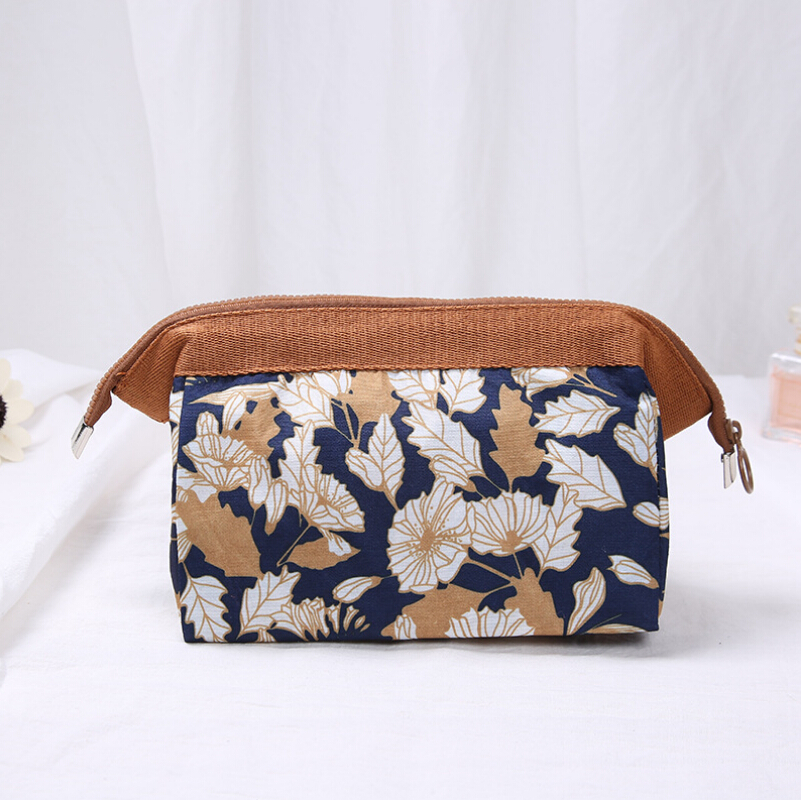 005e213179c9 Women Portable Cute Multifunction Beauty Travel Cosmetic Bag Flamingo  Floral Organizer Case Makeup Wash Pouch Toiletry Bag-in Cosmetic Bags &  Cases ...