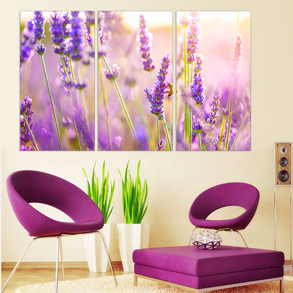 Canvas Painting On Canvas Lavender Oil Painting Beautiful Provence