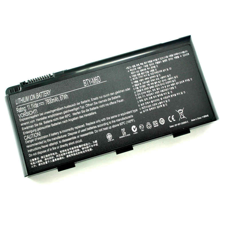 Laptop Battery 7800mah For Msi Bty M6d E6603 Gt60 Gt660 Gt670 Gt70 Gt780 Gx60 Gx660 Gx780 Gx680 Gx660r Gt663 Series Laptop Battery Case Laptop Batteries Compaq Presariobattery For Macbook Air Aliexpress