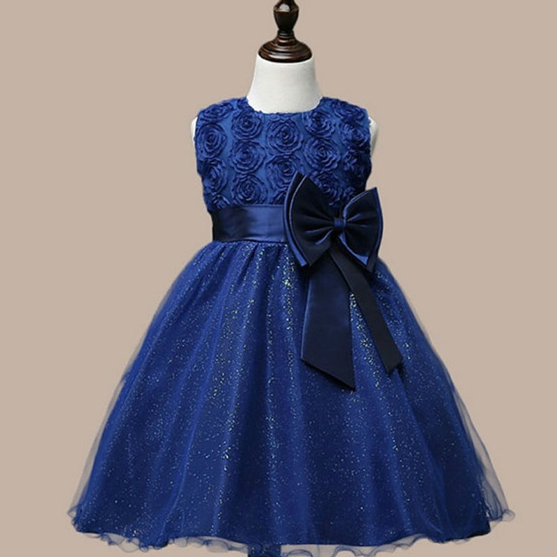 2017 Flower Girls Dresses for Wedding A-Line First Communion Dresses for Girls Tulle vestido Sleeveless Mother Daughter Dresses