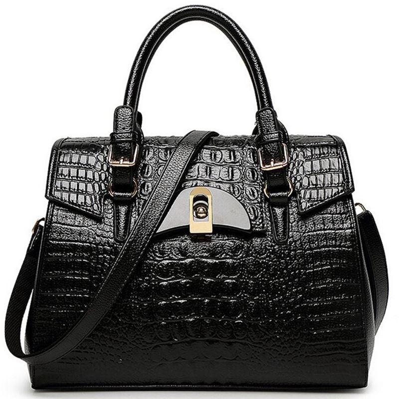 ФОТО Women bag pu leather bags handbags women famous brands luxury 2017 shoulder messenger bag dollar price black bag C40-362