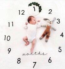 100x100cm Fashion Baby Photos Decoration Items Infant Take a Photograph Mat Kids Week Months Photography Background Floor Carpet magnum photos photograph