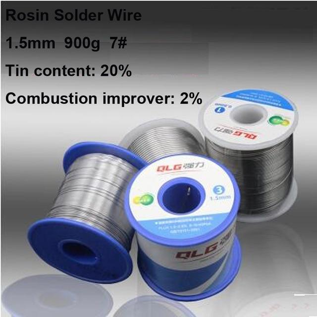 Qualität Versprechen 900g 1,5mm Tin Lead Loetdraht Kolophonium Kern ...