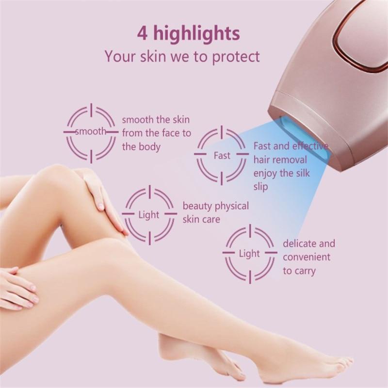 Multifonction Laser épilation femmes humide sèche rasoir épilateur épilation permanente Bikini aisselles corps jambe visage tondeuse