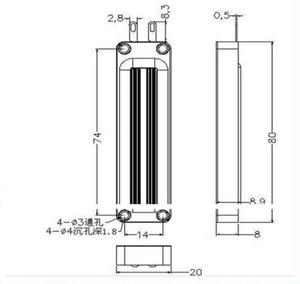 Image 2 - Hifi 3 אינץ הטוויטר רמקול יחידה 5 אוהם 20W רמקול טרבל AL 2383 סופר חגורת סוג גבוהה רמקול
