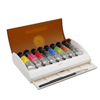 Top Artist SENNELIER 8 colors 10ML honey watercolor paints suits (tube) AP N131642 mental box color palette rich