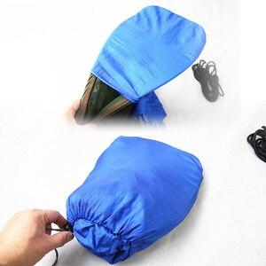 Image 4 - Multiuse נייד ערסל קמפינג טיולים נסיעות ערסל עם כילה דברים שק unnel צורת נדנדות מיטת אוהל שימוש חיצוני