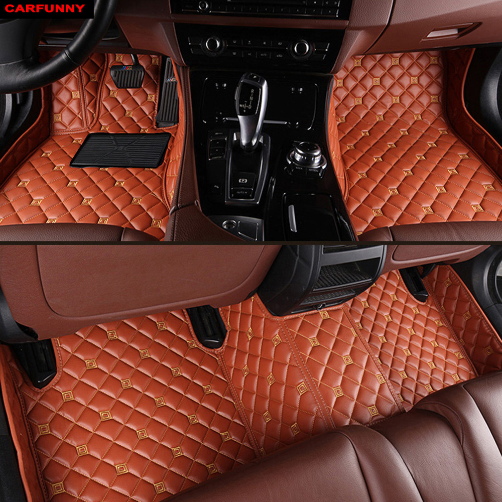CARFUNNY Car floor mats fit LHD hand drive and RHD hand drive All model for  Nissan  TiidaTeana CedricBluebird SylphyFuga CARFUNNY Car floor mats fit LHD hand drive and RHD hand drive All model for  Nissan  TiidaTeana CedricBluebird SylphyFuga