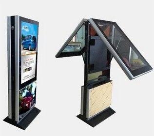 42 pouces LCD publicité machine wifi double écran vertical électronique Lcd CCTV moniteur affichage pc