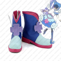 Yu Gi Oh! VRAINS Blue Angels Cosplay Shoes Anime Boots