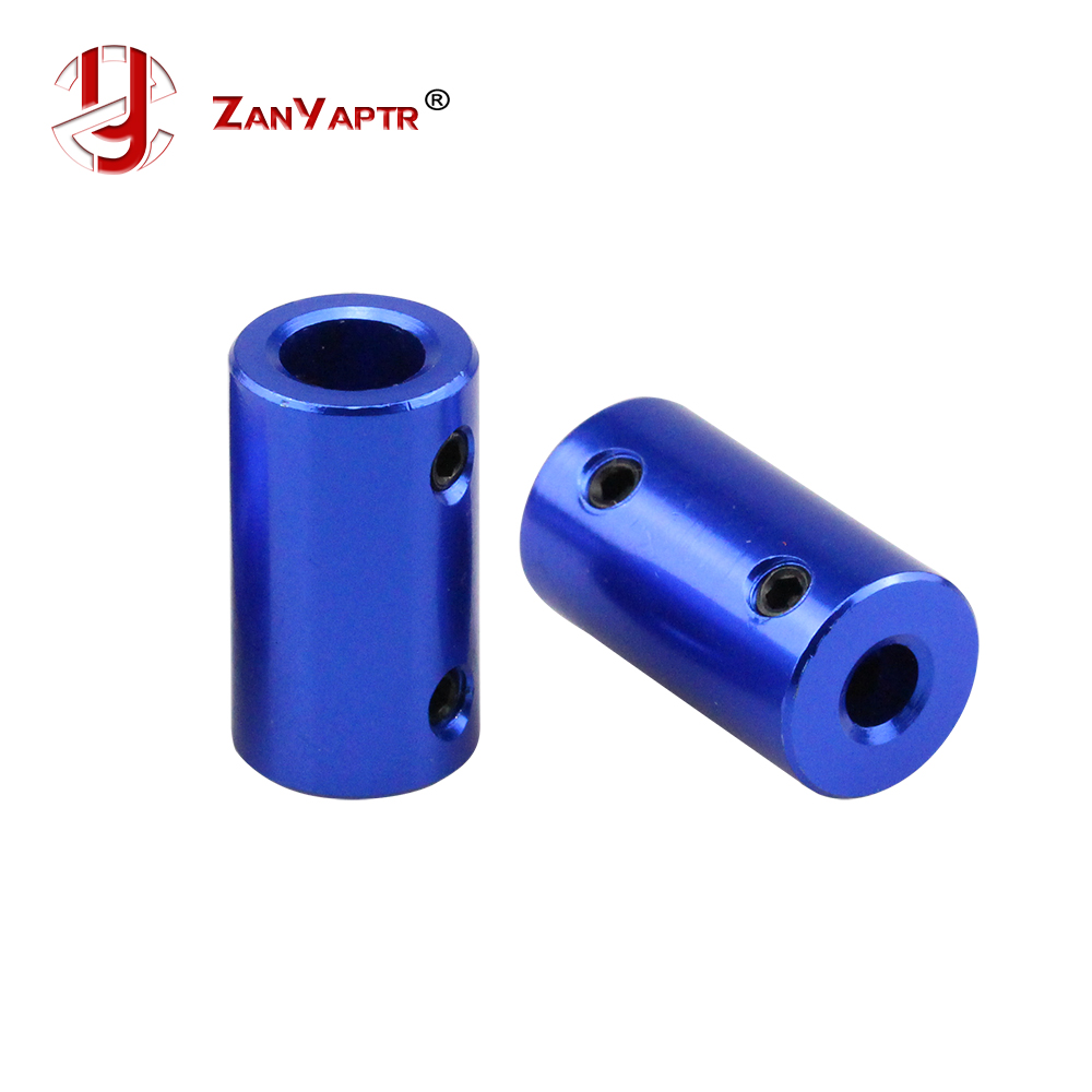New 5*8mm 5*5mm Blue Aluminum Alloy Coupler D14 L25 5mm To 8mm 5 To 5mm Shaft For Motor Shaft Model Coupling